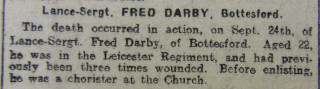 Grantham Journal 26/10/1918