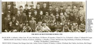 Bottesford school boys, 1928