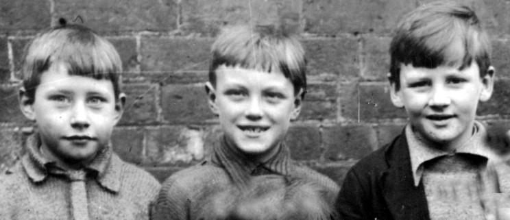 Geoff Flack, George Farrow, Harold Lamb