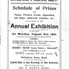 Horticultural Shows in the 1930s