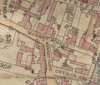 Detail from 19th Century Map