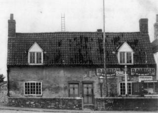 Post card - 'Belvoir Lane' Corner circa early 1900s