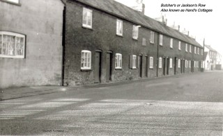 Butcher's Row cottages, High Street
