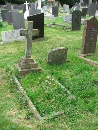 Frankie Bullock is buried in Bottesford alongside his Uncle Harry & Aunt Rose Harby