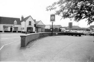 Belvoir Road corner in the 1980s