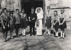 Marriage of David and Rita Ball (nee Rewston)