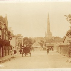 An old post card of Market Street