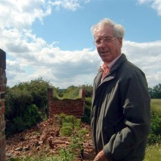 Peter Topps surveys the destruction.