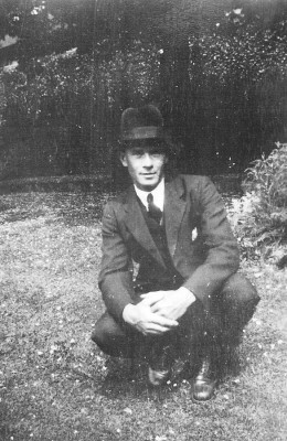 My grandfather Walter Coy, taken mid 1920s.