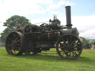 Steam Ploughing Engine No. 15333 - registration AL 9855, once belonging to G.E.Marsh & Sons