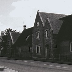 Bottesford School. The Infants' room was on the left hand end and is now the Fuller Room
