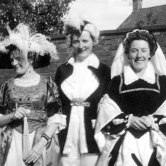 Mrs Ada Bond, Mrs Edna Daybell and Mrs May Green