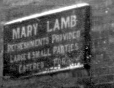 Mary, wife of William Lamb, ran the Six Bells a tea room, possibly in the 1920s