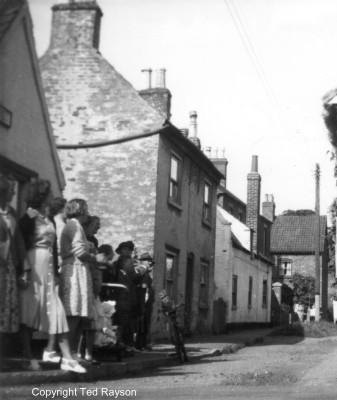Albert Street West side 1951
