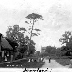 Early 1900s view towards Devon Farm