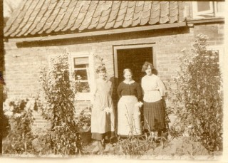 Annie, Mary and Nellie Harby, early 1920s