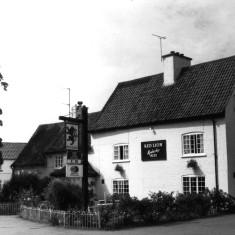 The Red Lion c. 1983 after the new extension