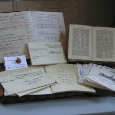 18th Century deeds, Account Books of the Bottesford Friendly Society and White's 1862 Directory of Leicestershire