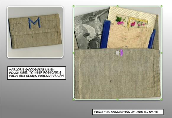 Pte. Harold Hallam's postcards to his cousin Marjorie Goodson
