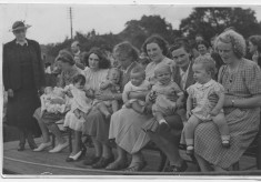 Baby Show 1950 at The Village Hall, Bottesford