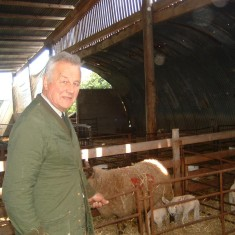 John Baggaley at his farm in Normanton. | Photo by Peggy Topps