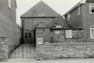 Bottesford Baptist's Chapel, before renovation.