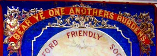 The Banner of the Bottesford Friendly Society