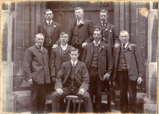 Bellringers for the coronation of George V June 22 1911