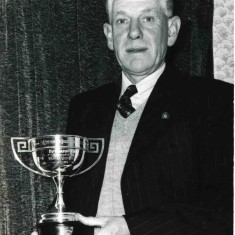 Winning the Everards Horticultural Cup in the 1960s
