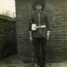 Playing 'Private Willis of the Grenadier Guards' in Iolanthe in 1925