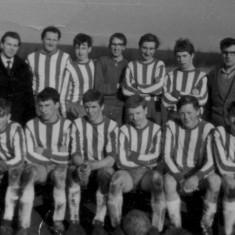 Bottesford football - Tony front row 2nd from rh