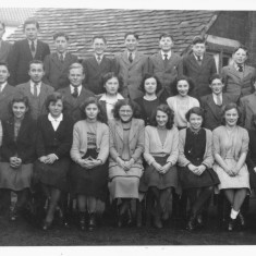 School - George back row 4th from lh