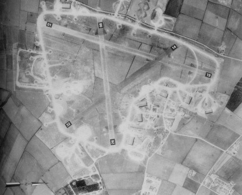 Bottesford Airfield,  April 1944