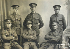 Bottesford Squad Mobilization 1914