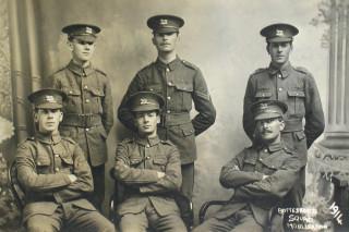 Bottesford Squad Mobilization 1914