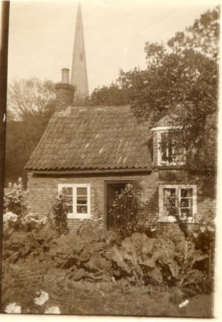 Mr and Mrs Gale's cottage would have been near to the one on Church Street shown above