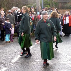 Mu Martin and the other Greenwood Clog ladies.