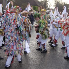 Boxing Day 2007 Morris Dance, a year on!