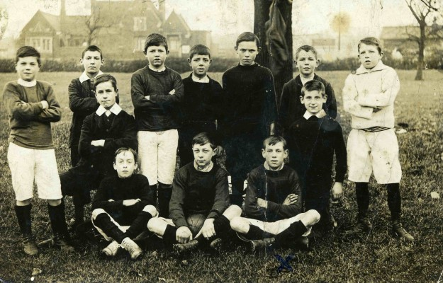 Boy's Football Team - 1906