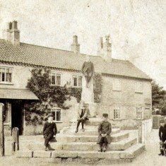 Boys at the Cross c. 1900