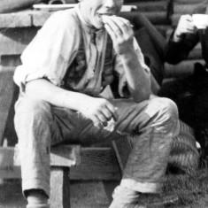 Brickyard Boy. Detail of 12.