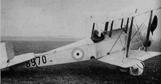 Bristol Scout bi-plane used by the RFC for front line service until 1916 when it became a trainer and a senior officer 'run about'