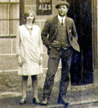 Nancy Moulsher (nee Goodson) and Herbert Goodson.