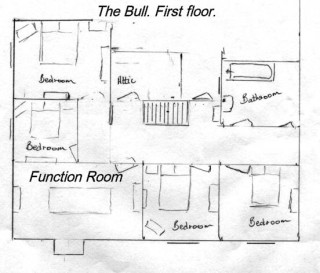 Plans of The Bull in the 1940s.