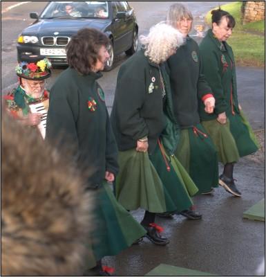 The Greenwood Clog dancers.