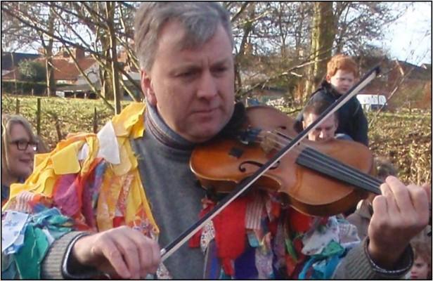 The bold fiddler.