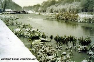 Grantham Canal, December 2007