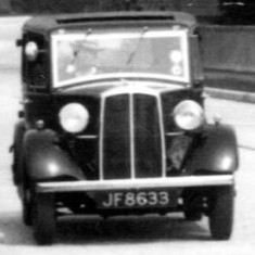 The New Road, 1937.  Who owned JF 8633?
