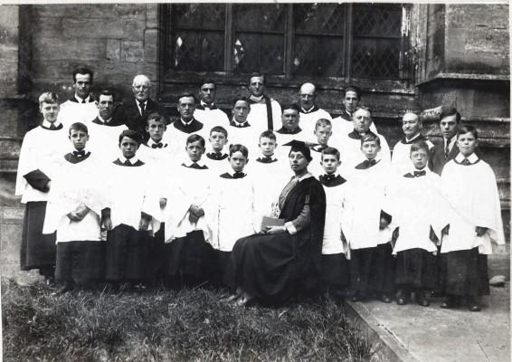 Church Choir, Bottesford mid to late 1920's