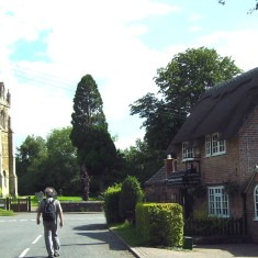 St. John the Baptist parish church and the former forge (now a tearoom) | Neil Fortey